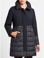 Gerry Weber Plain Quilted Coat, Navy
