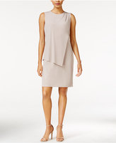 Bar III Draped Sheath Dress, Only at Macy's