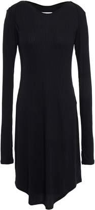 MM6 MAISON MARGIELA Ribbed Modal-blend Mini Dress