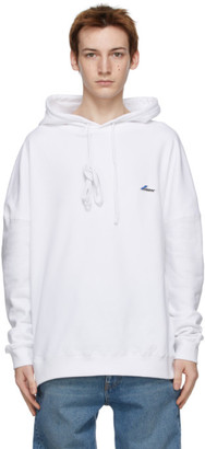we11done White Logo Patch Hoodie