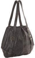 Women's Piel Leather Convertible Buckle Backpack/Shoulder Bag 3053