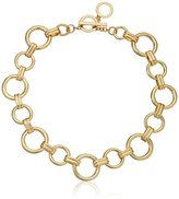 """Anne Klein Metal Meaning"""" Gold-Tone Open Circle All Around Collar Necklace, 18"""""""