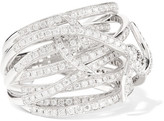 Stephen Webster Forget Me Knot 18-karat White Gold Diamond Ring
