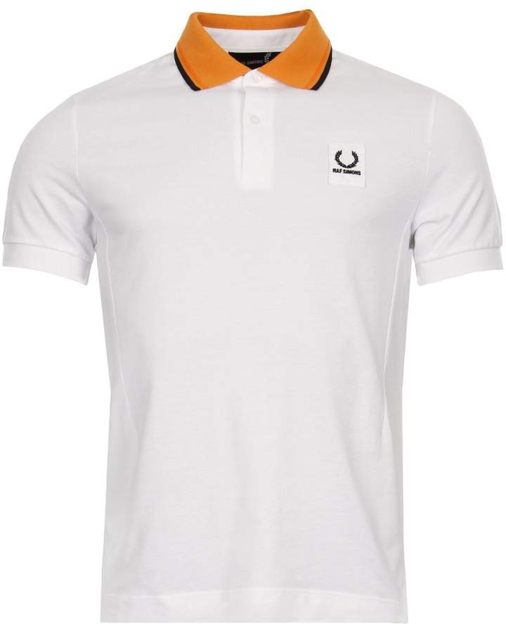 Raf Simons Fred Perry x Polo Shirt - White/Orange