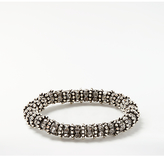 John Lewis Glass Pave Stretch Bracelet, Silver