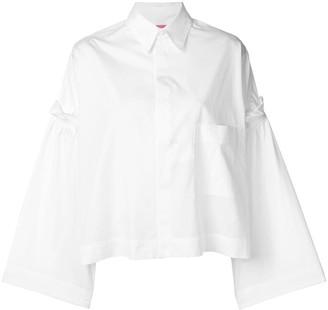 Y's Gathered Sleeve Shirt