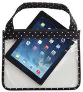 Mud Pie Mini Dot Transparent Protective Tech Case in Black
