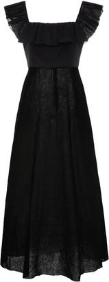 Zimmermann Fiesta Ruffled Cotton Maxi Dress