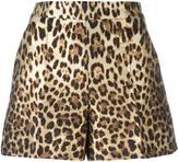 RED Valentino leopard print shorts