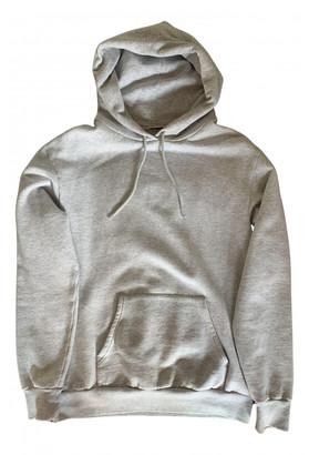Balenciaga Grey Cotton Knitwear