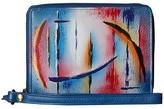 Anuschka RFID Blocking Zip-Around Clutch Wallet 1143 (Northern Skies) Handbags