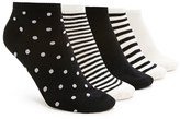Forever 21 Polka Dot Ankle Sock Set