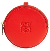 Loewe Round Leather Bag Charm