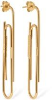 Gogo Philip Studio GOLD PAPER CLIP EARRINGS