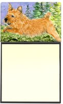 Caroline's Treasures SS8910SN Norwich Terrier Refillable Sticky Note Holder or Postit Note Dispenser