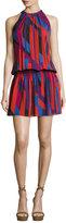 Ramy Brook Ibiza Geo Sleeveless Printed Paris Dress, Red