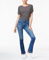 Hudson Heartbreaker Released-Hem Bootcut Jeans