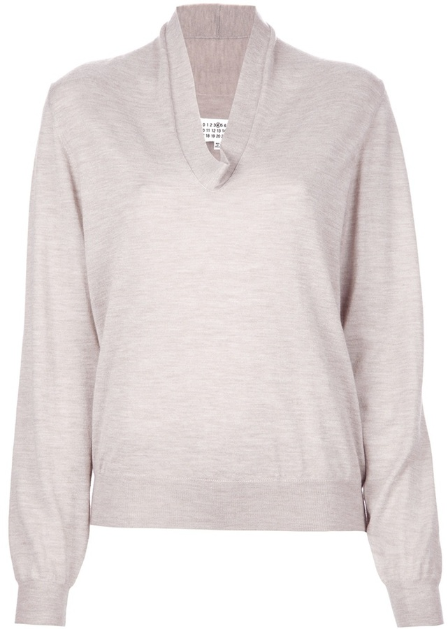 Maison Martin Margiela V neck sweater
