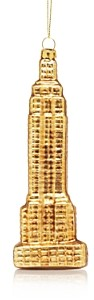 Bloomingdale's Glass Empire State Building Ornament - 100% Exclusive