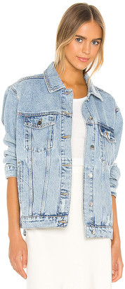 Anine Bing Rory Denim Jacket. - size L (also