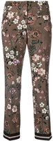 Cambio cropped pants - women - Polyester/Spandex/Elastane - 40