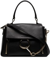 Chloé Black Faye Day Leather Shoulder Bag