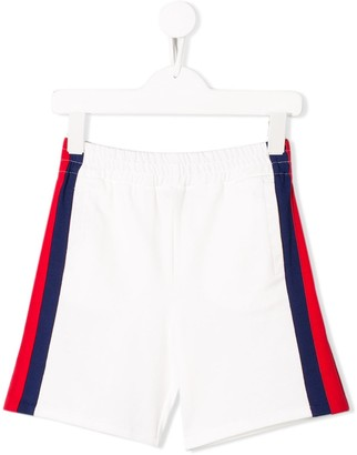 Gucci Kids Side Stripe Track Shorts