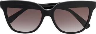 Longchamp cat-eye shaped sunglasses