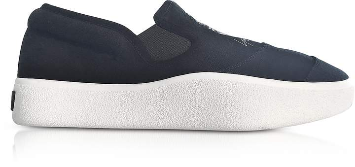 Y-3 Black and White Tangutsu Slip-on Sneakers