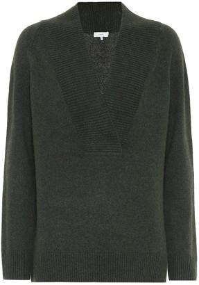 Vince V-neck wool-blend sweater