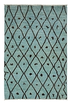 Solo Rugs Vibrance Collection Oriental Rug, 4'1 x 6'1