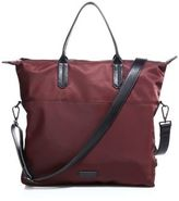 Uri Minkoff Leather-Trimmed Nylo Tote