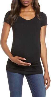 Isabella Oliver Scoop Neck Maternity T-Shirt