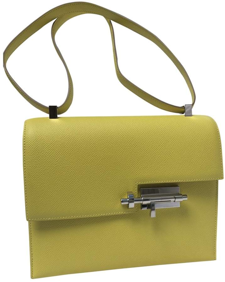 2937aa3d38 Hermes Yellow Bags For Women - ShopStyle UK