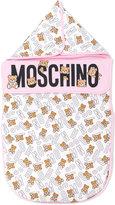 Moschino Kids teddy bear print nest