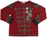 Dolce & Gabbana Medals Printed Cotton Jersey T-Shirt