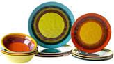 Certified International Sedona Heavy Weight Melamine12 Piece Dinnerware Set, Service for 4