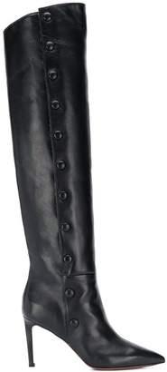 L'Autre Chose knee-length side button boots
