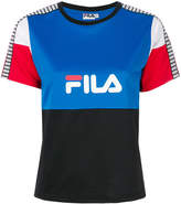 Fila logo colour-block T-shirt