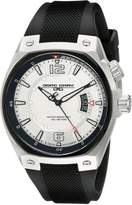 Jorg Gray Men's JG8300-11 Analog Display Quartz Black Watch