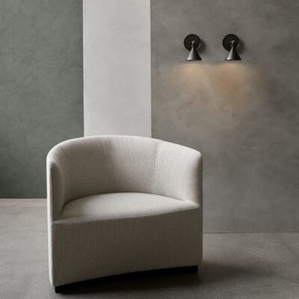 Menu Tearoom Armchair Upholstery Color: Cream