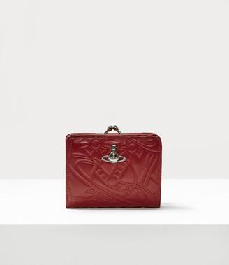Vivienne Westwood Alexa Wallet With Frame Pocket Red