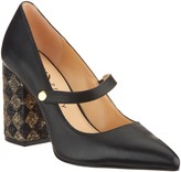 Katy Perry Leather Pointed Toe Mary Janes - The June