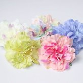 BST Wedding Headpieces BST Women's Fabric Headpiece - Wedding / Special Occasion / Casual Hair Combs / Flowers 1 Piece
