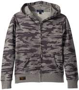 Polo Ralph Lauren Camo Print Cotton Hoodie Boy's Sweatshirt