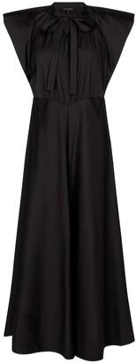 Lee Mathews Maleo cotton-blend maxi dress