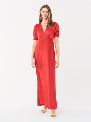 Diane von Furstenberg Avianna Soft Satin Gown