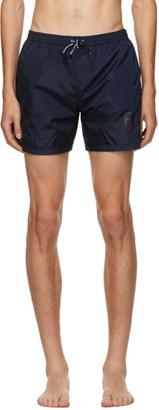 Balmain Blue Logo Swim Shorts