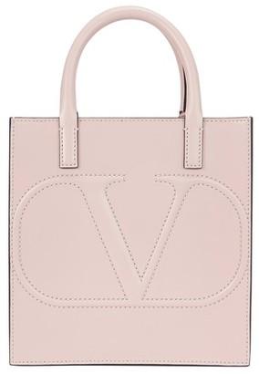 Valentino Logo Small Double Handle Bag