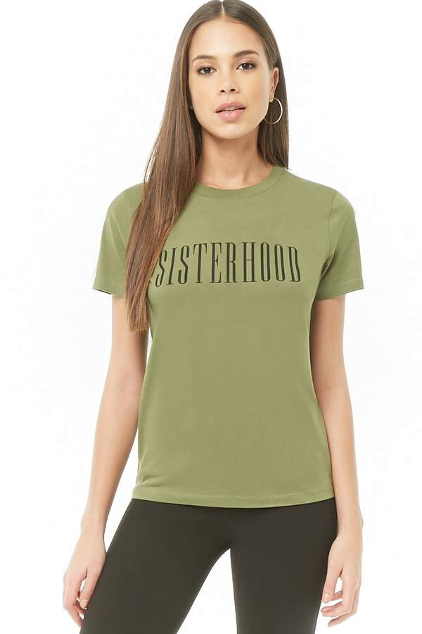 2674fab27297 Forever 21 Green T Shirts For Women - ShopStyle Canada